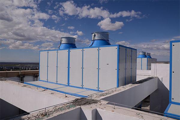 米东电厂安装高温冷水机组