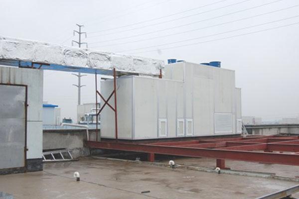 实验室用三级蒸发冷却空调
